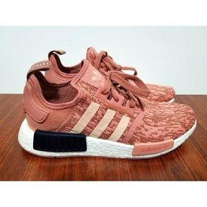 Adidas NMD R1 Pink Glitch Boost NEW Camo